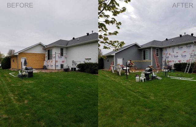 Home Remodel Before and After