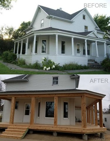 Home Porch Remodel